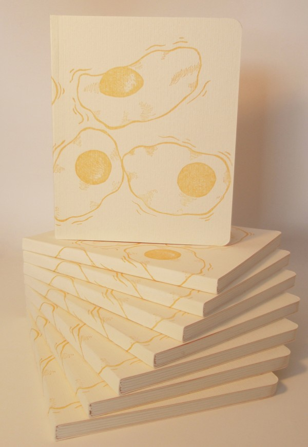 Fried Egg Blank Books